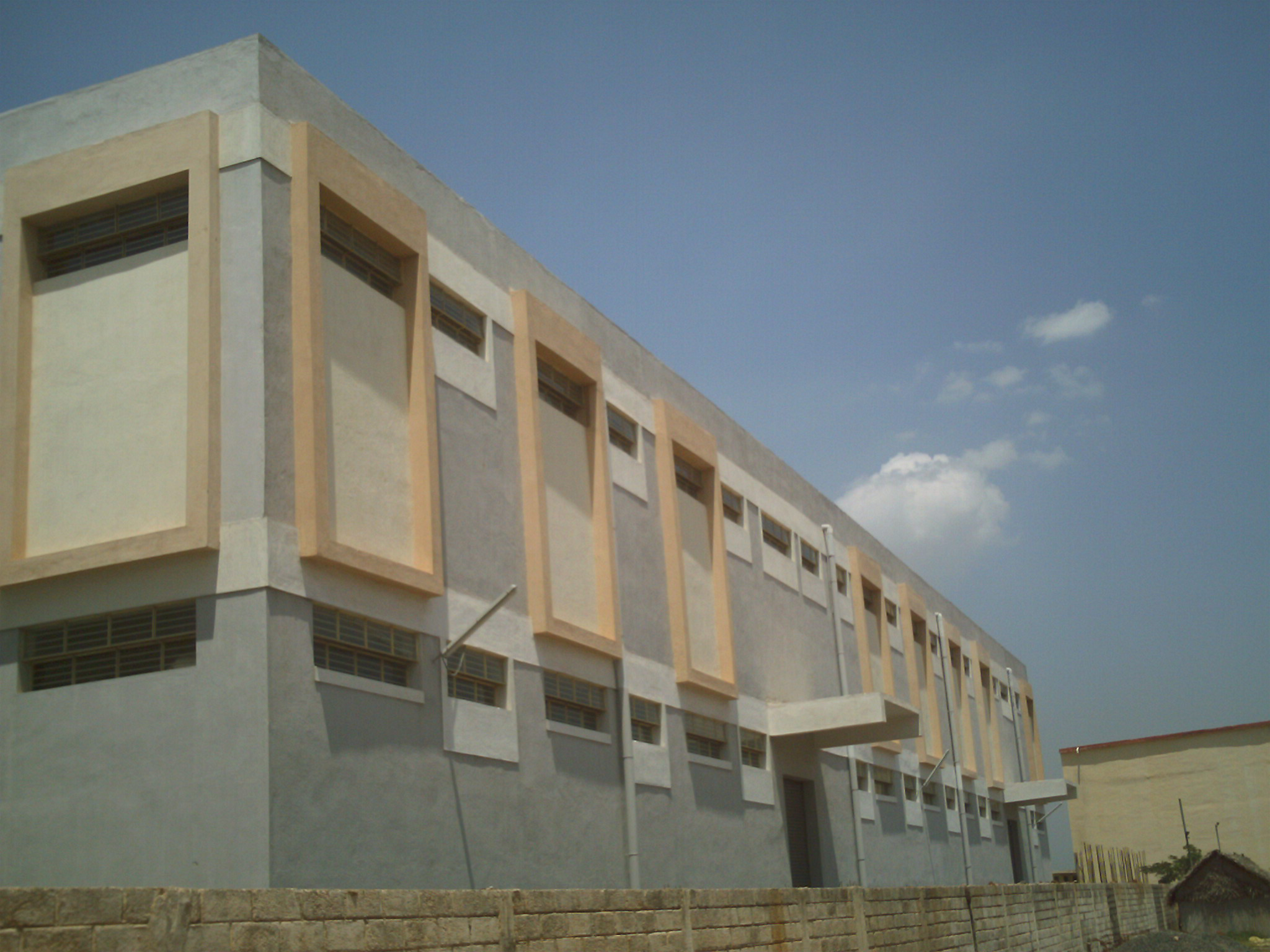 Warehouse Constrution