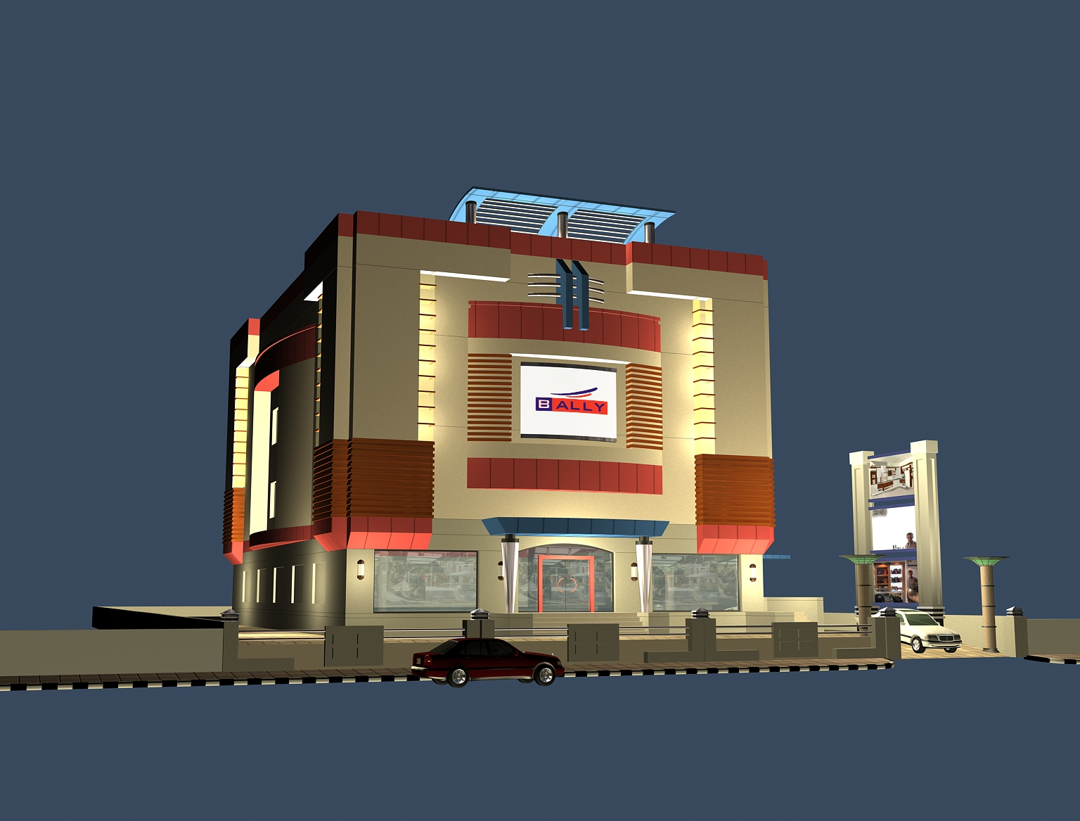 Showroom Design In Erode