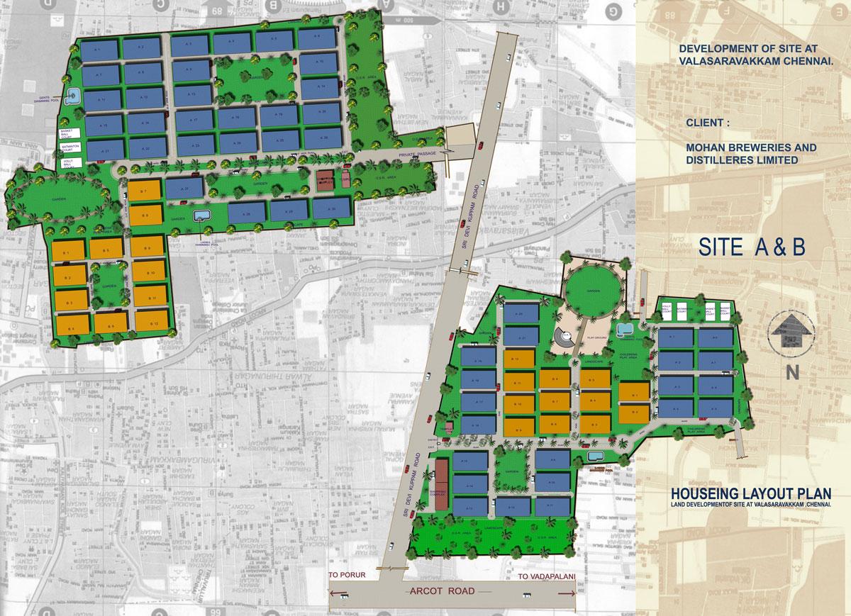 Housing mater plan in Chennai