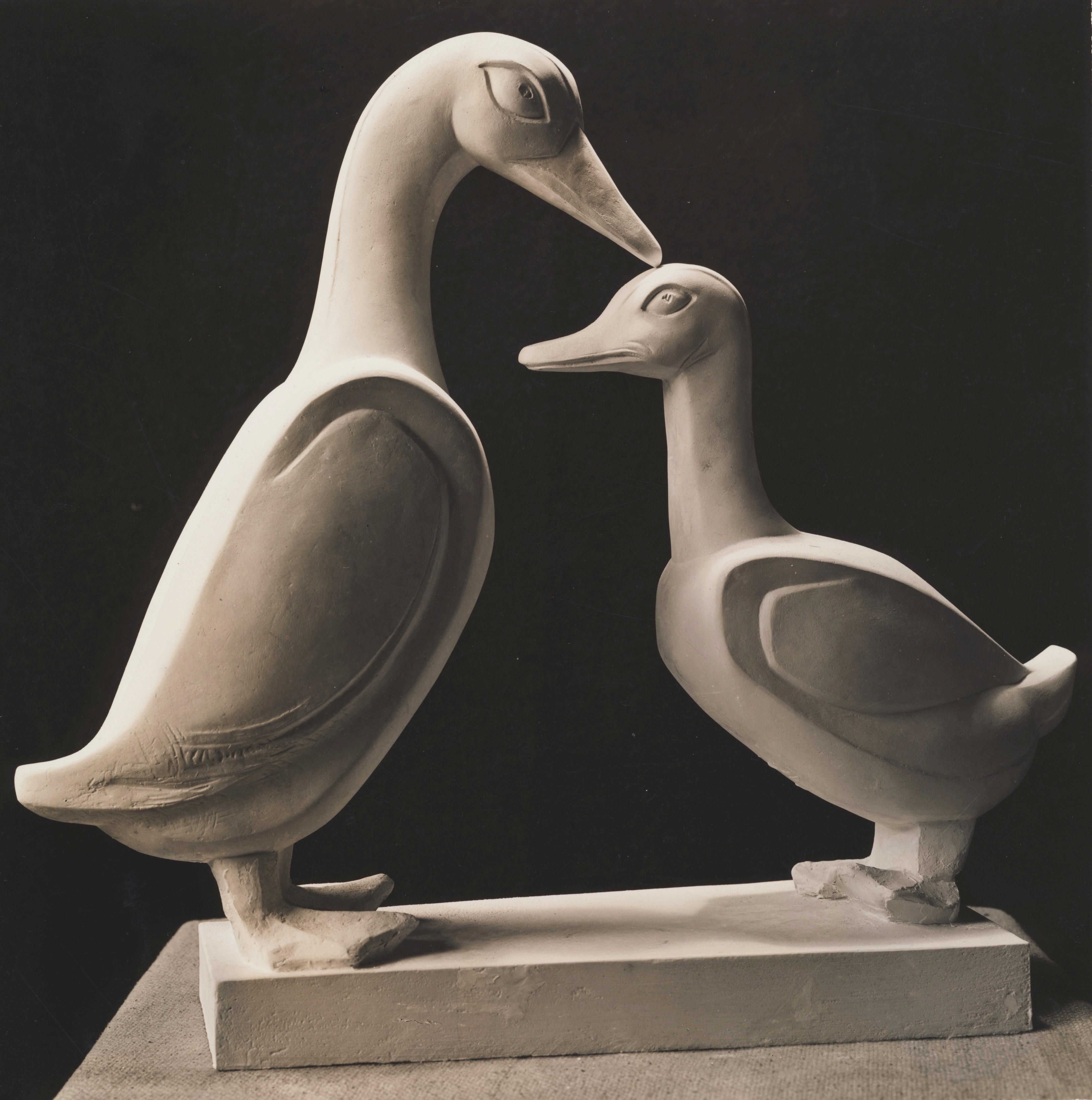 Loving Ducks Plaster