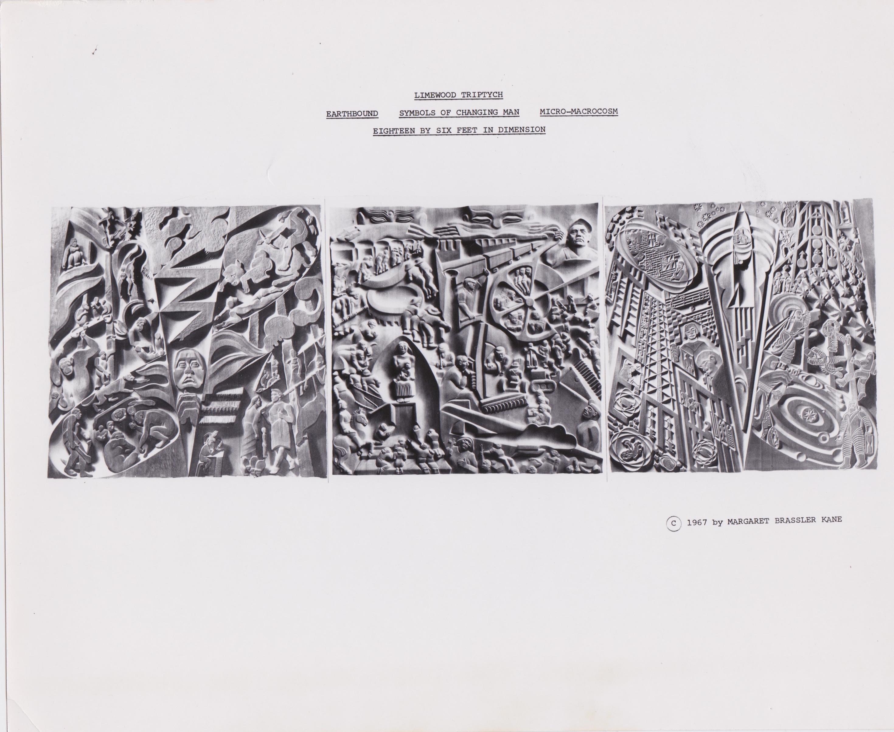 Limewood Triptych