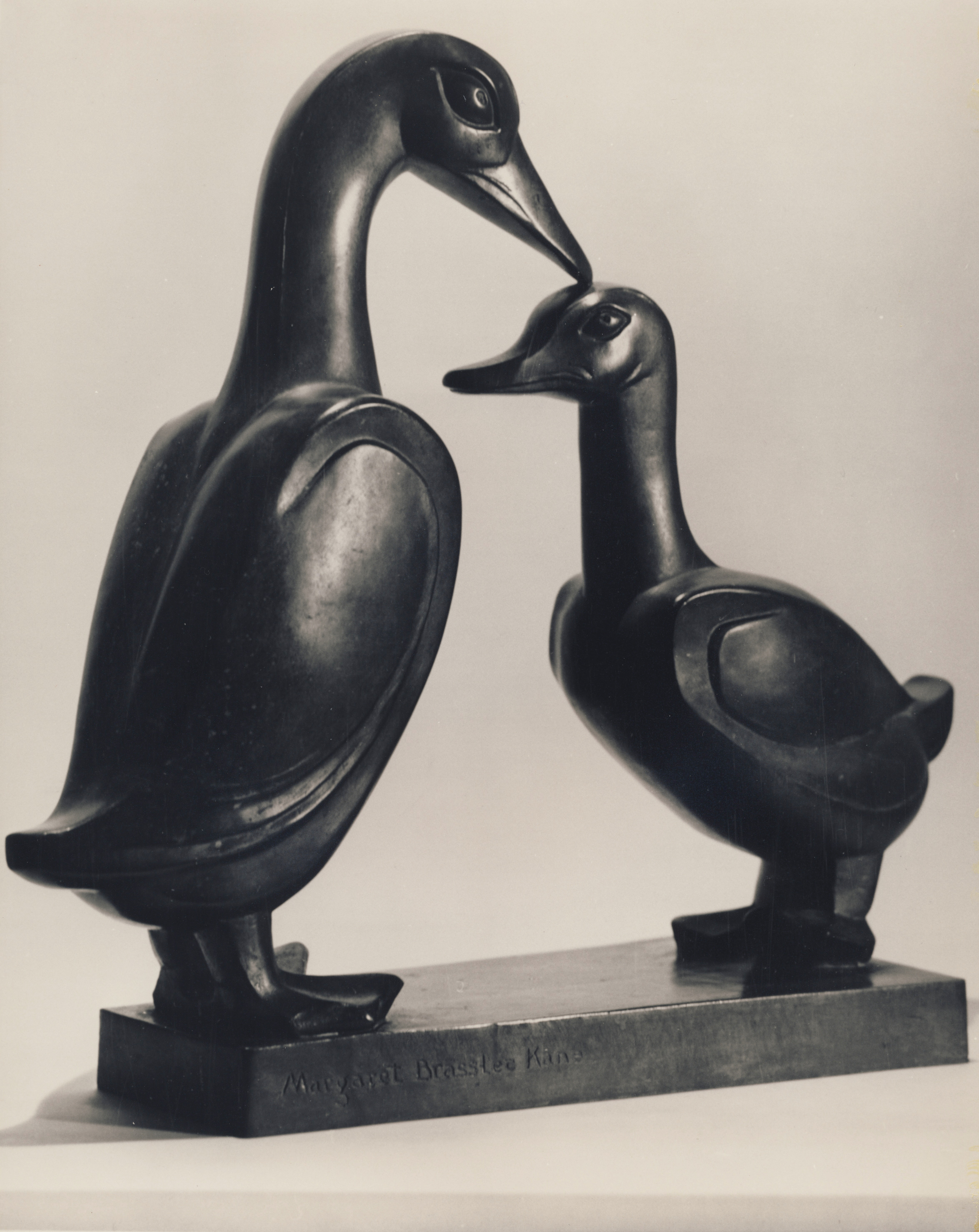 Loving Ducks Bronze