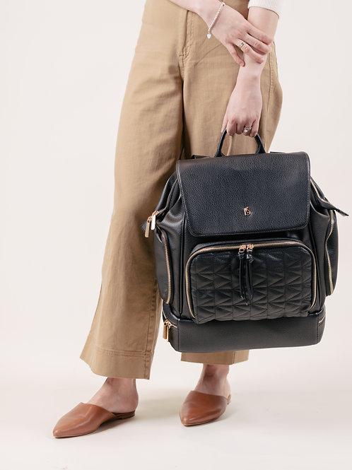 LuciAddi Convertible Backpack - Noir
