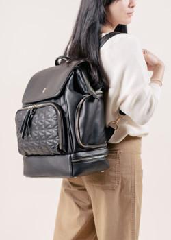 LuciAddi Convertible Backpack (Noir)