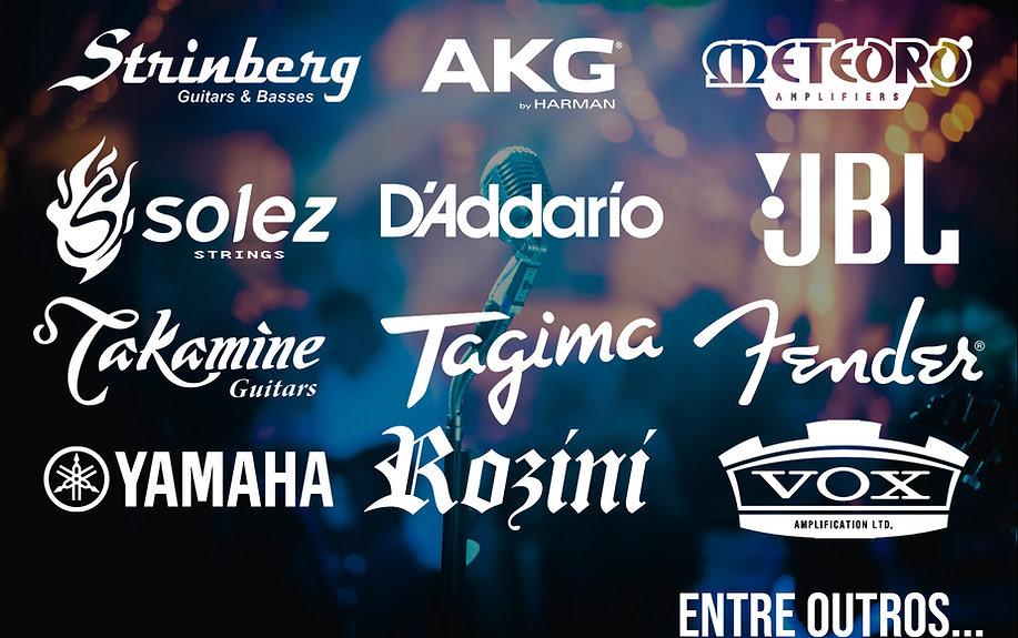 Diversas marcas em música