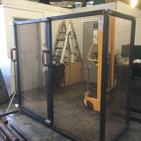 Furnace Safety Cage