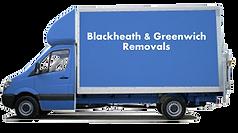 Blackheath man and van