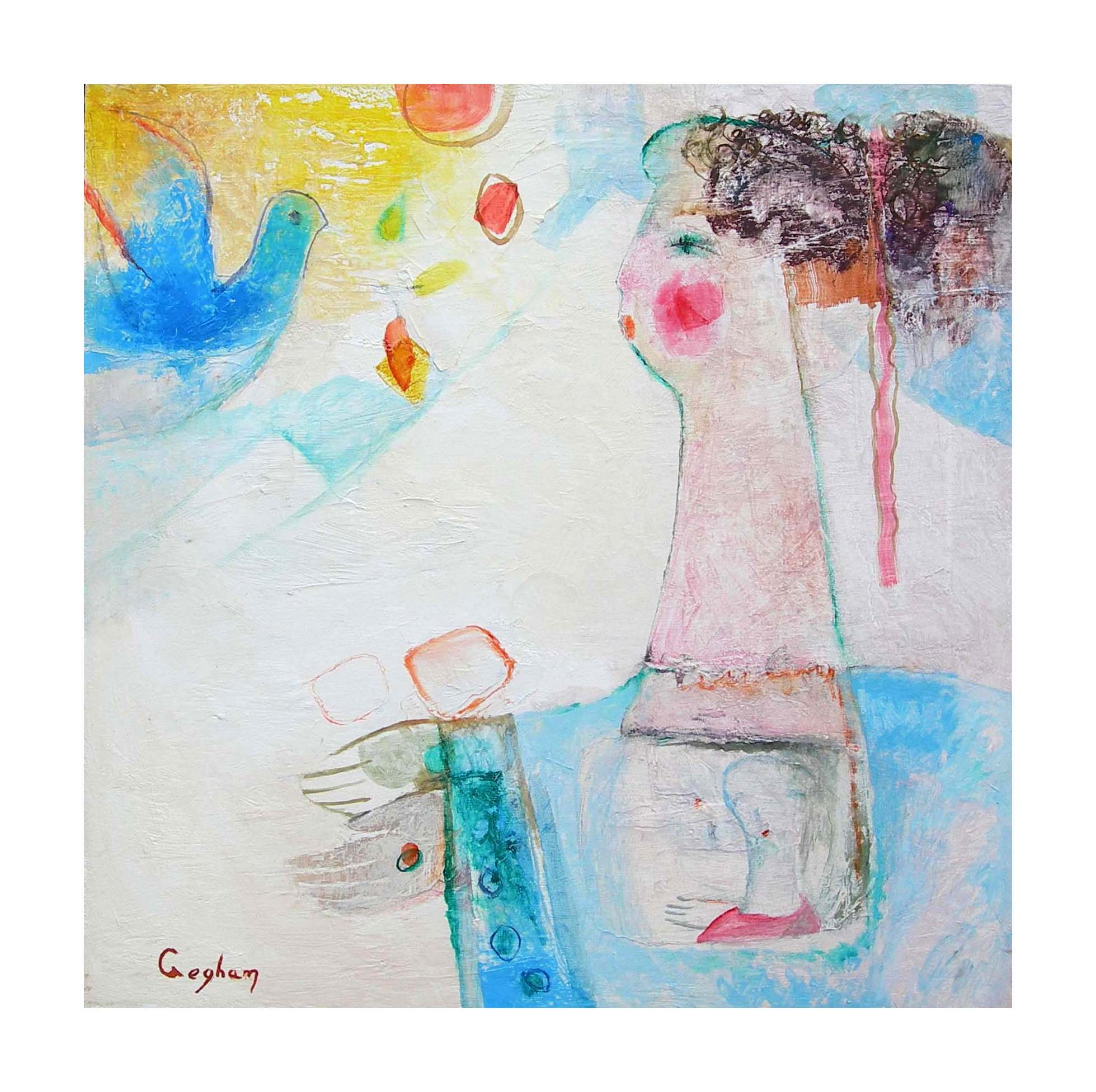 "20""x20"" Oil on Canvas"