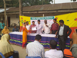 MMJ Foundation Distributes SSC Exam Fee Aid in Rangpur, Bangladesh