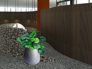 3D Visulisations of the Reception Desk