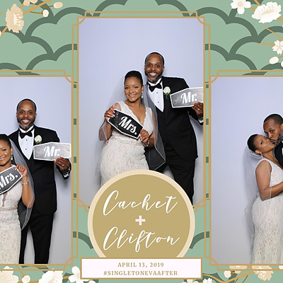 Cachet & Clifton's Wedding