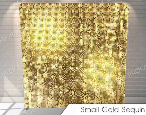 Small Gold Sequins