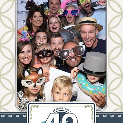 Cornerstone's 40th Anniversary