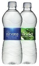 Nirvana Bottled Spring Water - 16.91 fl oz - 24/Carton