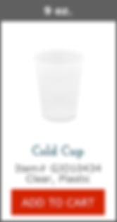 GJO10434 Plastic Cup