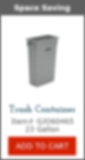 GJO60465 Slim Trash Container