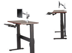 Lorell Adjustable Height Tables