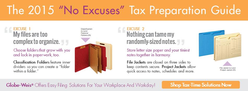 Tax Prep Guide Globe-Weis
