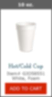 GJO58551 10oz Foam Cup
