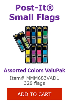 MMM683VAD1 Small Flag Markers