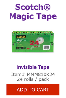 MMM810K24 Invisible Tape