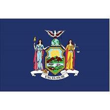 New York State Flag, Nylon, 4x6