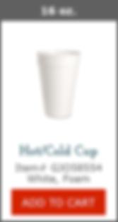 GJO58554 16oz Foam Cup