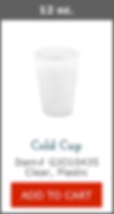 GJO10435 12oz Plastic Cup