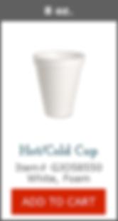 GJO58550 8oz Foam Cup