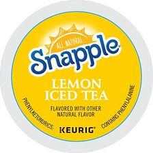 Snapple Caffeinated Lemon Iced Tea