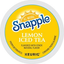 Snapple Caffeinated Lemon Iced Tea