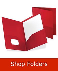 Folders Back to School
