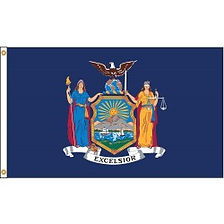 New York State Flag 3x5