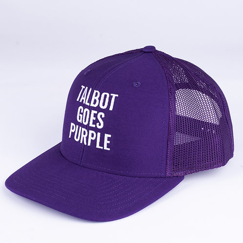 TGP Trucker Hat - Purple Mesh