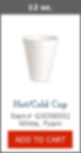 GJO58552 12oz Foam Cup