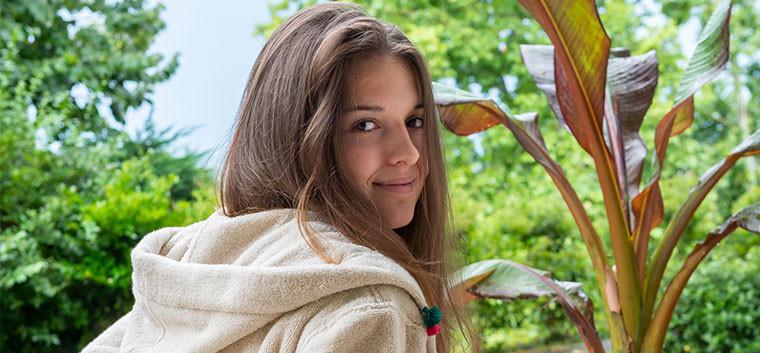 Java peignoir femme