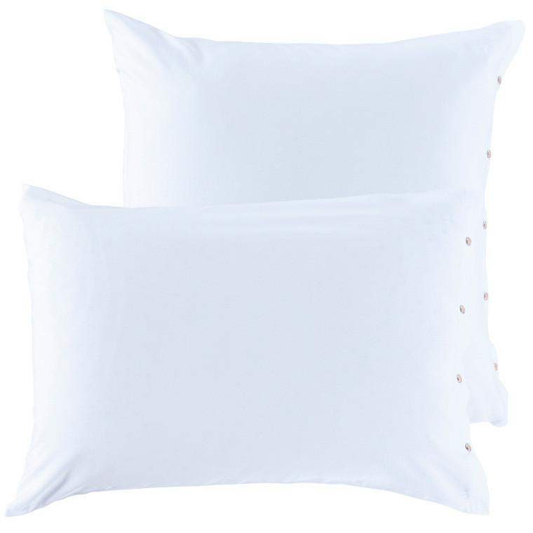 QUARTZ parure de lit coloris Blanc