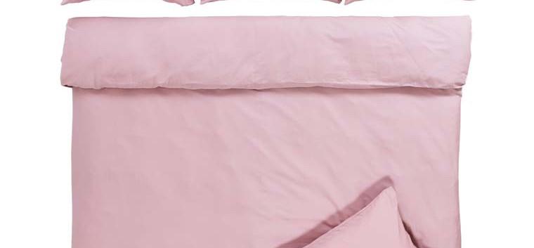 QUARTZ parure de lit coloris Blush