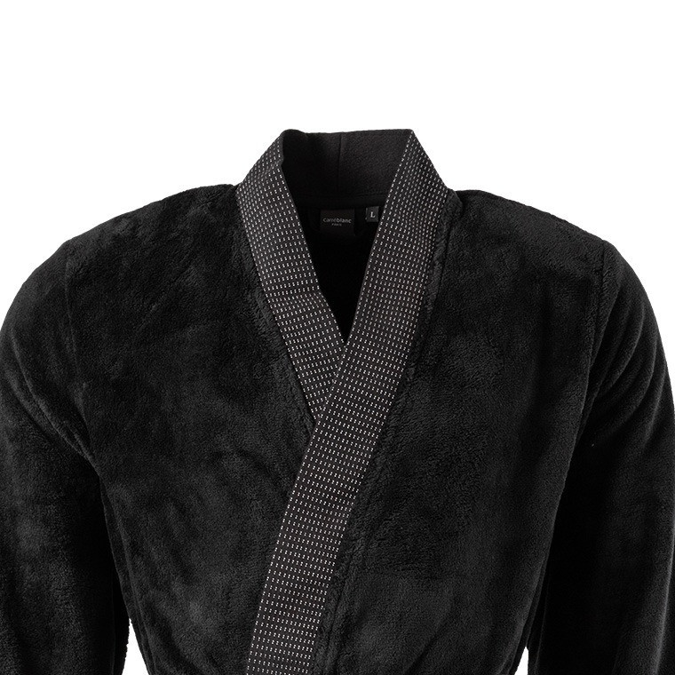 Kuro veste polaire kimono homme