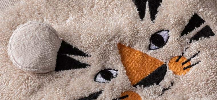 Tigerful parure de bain enfant