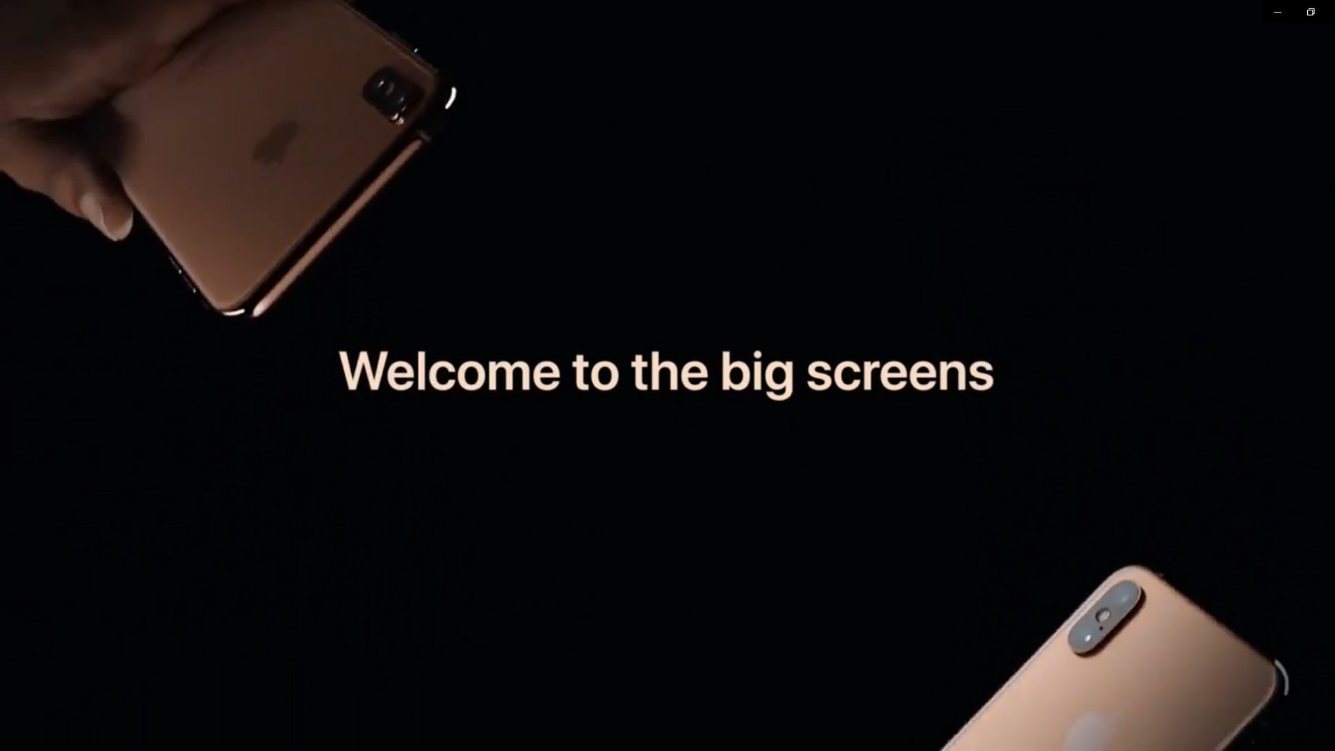 Apple - Welcome To The Big Screens