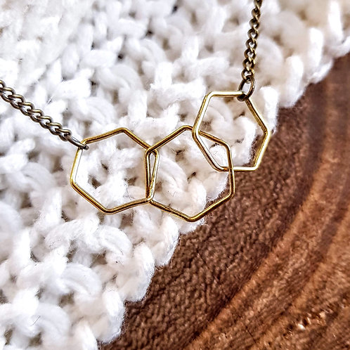 BFF Hex Necklace