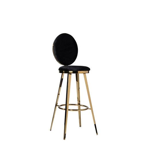Gold Highboy Chair