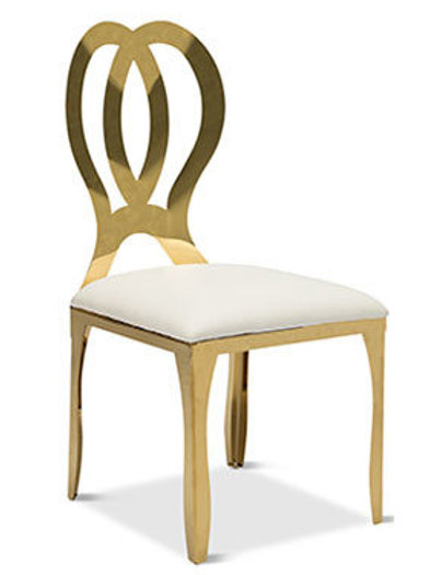 Gold Infinity Dining Chair