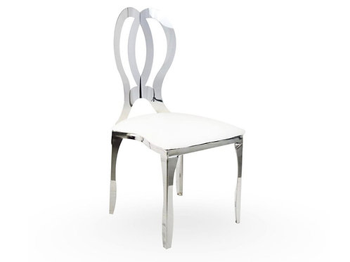 Silver Infinity Chairs