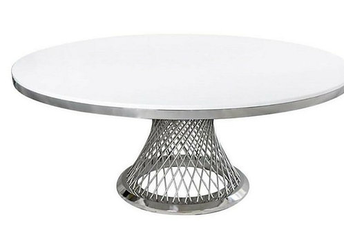 Empress Cake Table - Silver