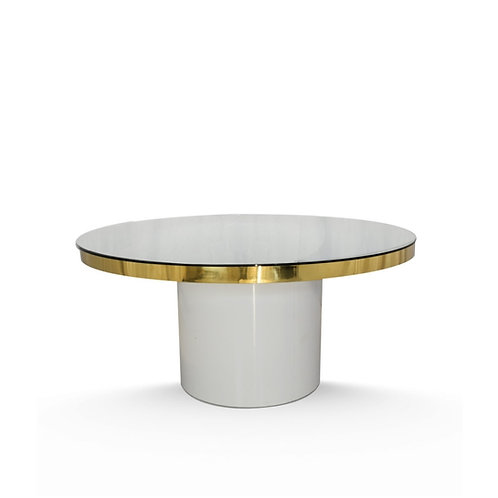 Gold Serenity Cake Table