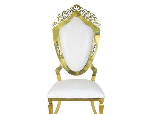 Gold & White Dutchess Chairs