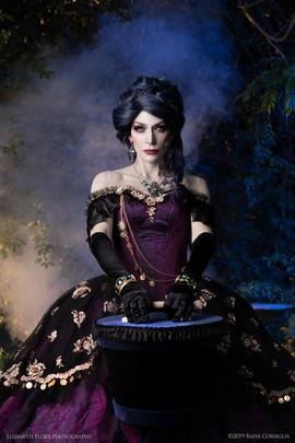 Madame Leota & Hatbox