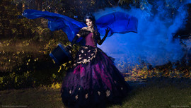 Madame Leota Hatbox Wings